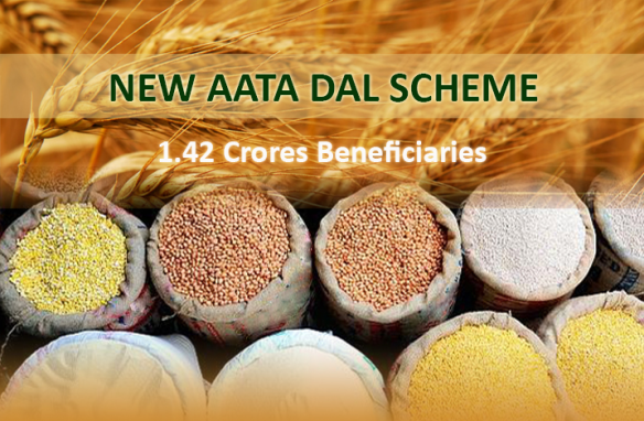 Atta-Dal Scheme  A Ray of Hope for poor families, Progressive Punjab, Parkash Singh Badal, Shiromani Akali Dal
